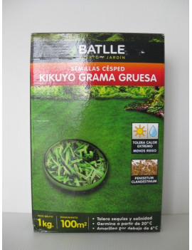 Semillas Césped Kikuyo 500gr