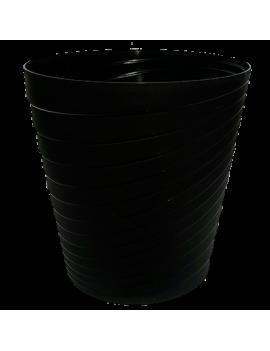 VASO SLINKY NEGRO 35CM