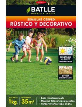 CESPED RUSTICO Y DECORATIVO...