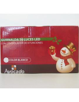 GUIRNALDA 70 LUCES LED...