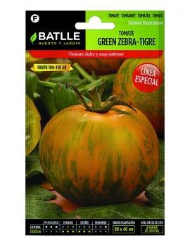 TOMATE GREEN ZEBRA- TIGRE