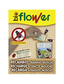 RECAMBIOS TRAMPA MOSCAS FLOWER