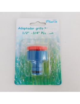 """ADAPTADOR GRIFO HEMBRA 1/2""""-3/4"""" PLUVIA"""